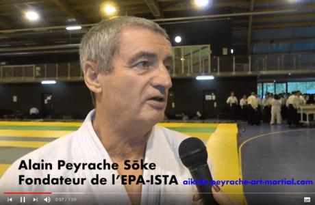 Interview d'Alain Peyrache maître d'aïkido et shihan du dojo de Rodez Onet (12)